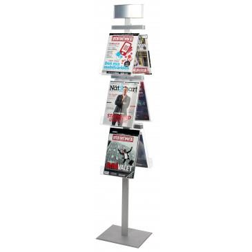 Brochurestativ Pyramid