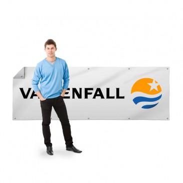 Banner Valgbar størrelse Frontlit Premium